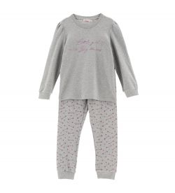 PAJAMAS WITH GLITTER EFFECT PRINTS