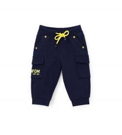 SWEATPANTS WITH FAKE SIDE POCKETS WITH RIVETS