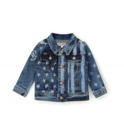 JACKET IN STRETCH DENIM COTTON