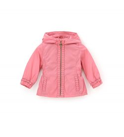 NYLON JACKET WITH HOOD
