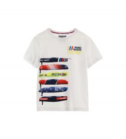 SHORT SLEEVE COTTON T-SHIRT WITH FRONT PRINT