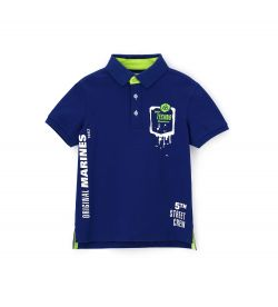 POLO PIQUET SHORT SLEEVE AND PRINTS
