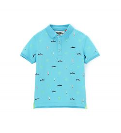 POLO PIQUET SHORT SLEEVE AND EMBROIDERY