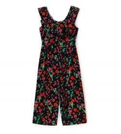 OVERALL OVERALL WITH RUFFLED COLLAR