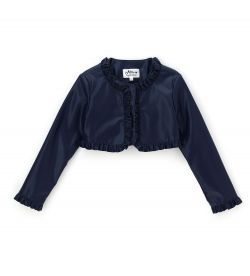 SHORT JACKET IN ECO-LEATHER
