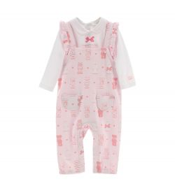 BODY AND DUNGAREES SET