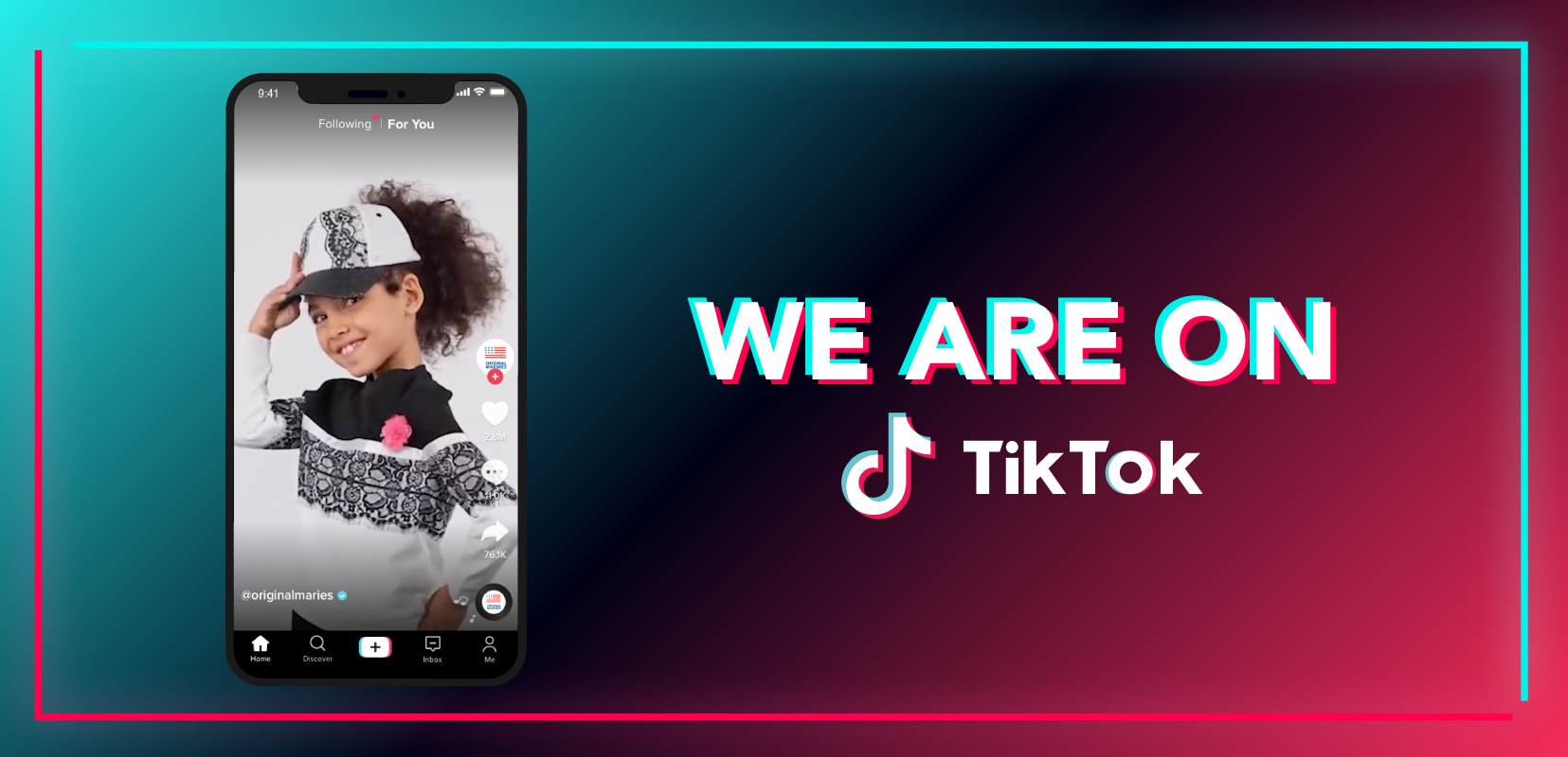 Tick tock, tick tock… it's time to let loose on TikTok.